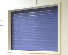 Higher security roller shutters